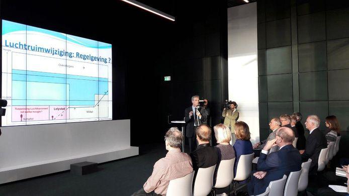 De presentatie van het bewonersadvies in Den Haag.