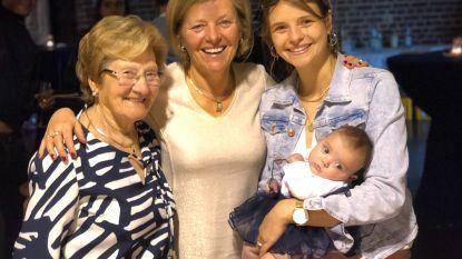 Nieuw familiegeluk: Maxine-Alix zorgt voor viergeslacht