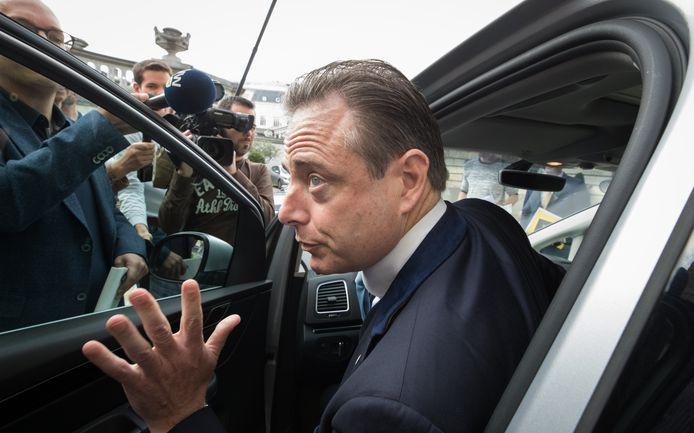 Bart De Wever, président de la N-VA et bourgmestre d'Anvers.