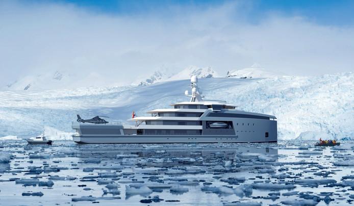 Of het nou in tropisch water of bij Antarctica is, de SeaXplorer moet zijn eigenaar overal kunnen brengen.