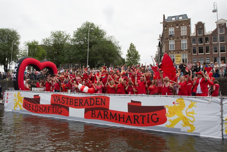 Boot van de gemeente Amsterdam Beeld BSR Agency