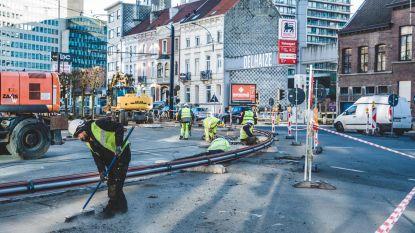 Hinder op stadsring door werken aan tramsporen