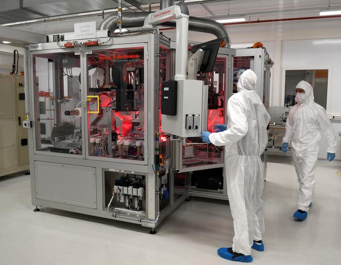 De nieuwe batterijenfabriek van VW in het Oostenrijkse Salzgitter