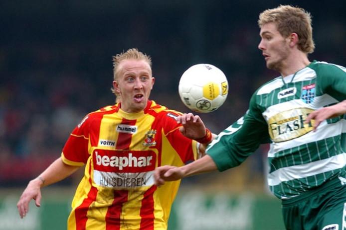 Johan Pater (links). Foto: Marnix van Wijk/Pro Shots