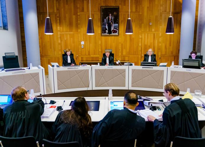 Het Gerechtshof tijdens het spoedappèl op 22 november in Den Haag tegen het vonnis over de IS-kinderen.