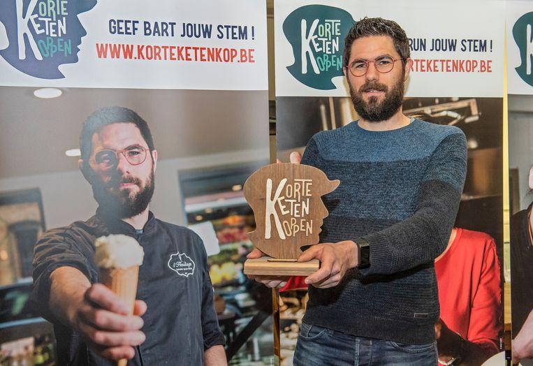 Bart Mostaert is de eerste West-Vlaamse Korte Keten Kop.