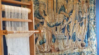 Een van de oudste wandtapijten van Oudenaarde is gerestaureerd en opnieuw te zien in het MOU