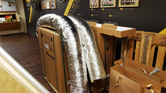 Nieuwe airconditioning NAC Museum.