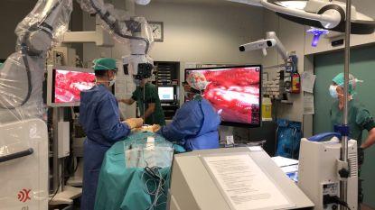 Sint-Augustinus zet als eerste Belgisch ziekenhuis een nieuw ingenieus robotgestuurd toestel in bij neurochirurgische operaties