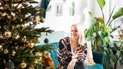 Woonportret: Jingle all the way met Anne-Catherine Gerets