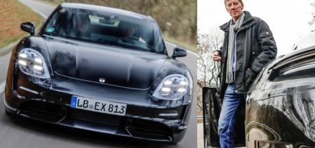 Porsche: rallykampioen Walter Röhrl test elektrische Taycan