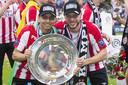 Junior Mauro (links) en Bart Ramselaar.