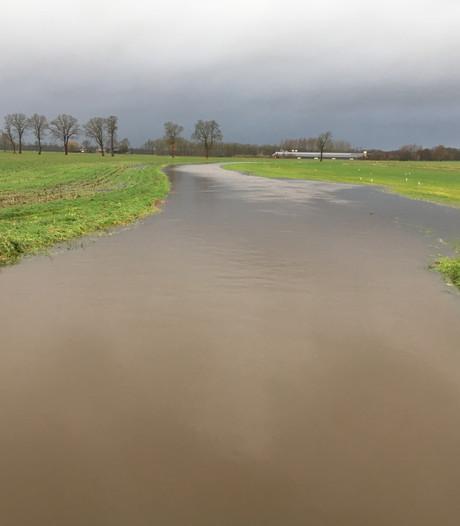Wateroverlast in Achterhoek en Liemers