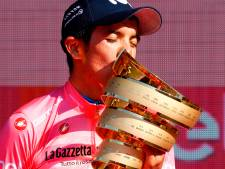 Carapaz schrijft geschiedenis met Giro-zege, Mollema eindigt als vijfde
