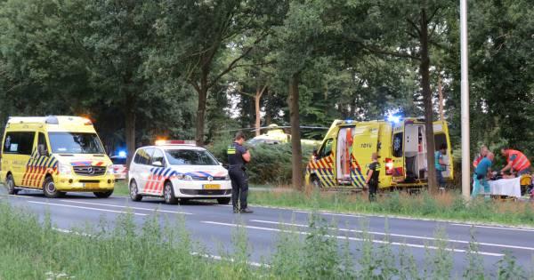 Politie houdt jongen aan om ongeluk met wielrenster, slachtoffer nog in levensgevaar.