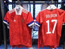 'Tweede flater: Adidas ook bij Russische shirts in de fout'