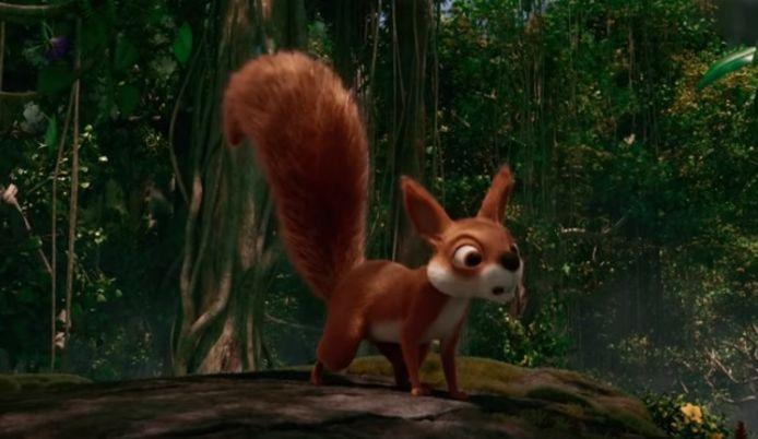 De eekhoorn uit Fabula.