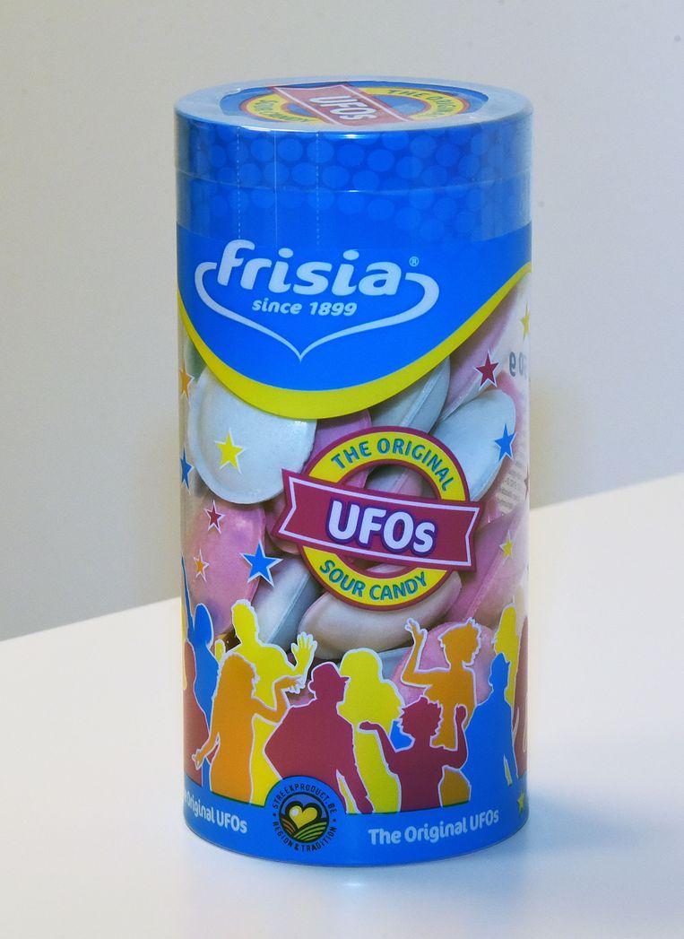 De ufo-verpakking van Frisia.