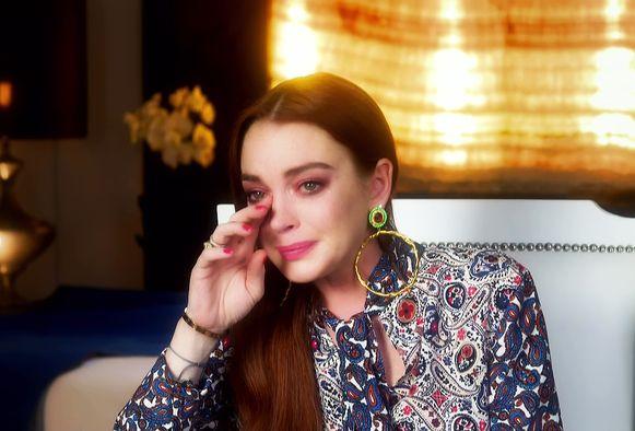 Een beeld uit het eerste seizoen van 'Lindsay Lohan's Beach Club'