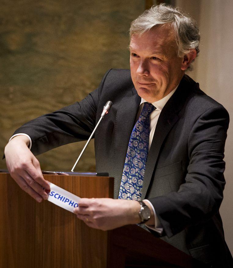 Jos Nijhuis, directeur Schiphol. Beeld null