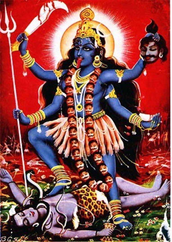 De tempel waarin de man werd gevonden, is aan godin Kali gewijd.