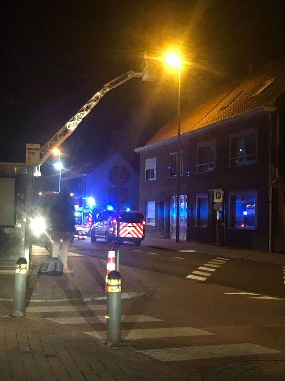 De brand brak in november  uit in de woning langs de Bruggestraat.