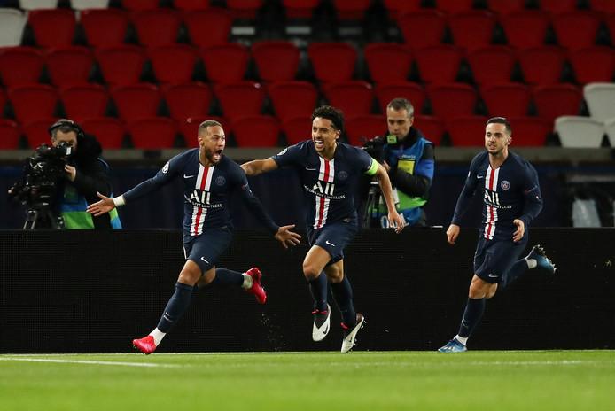 Un but à l'aller, un autre au retour: Neymar a porté le PSG vers les quarts.