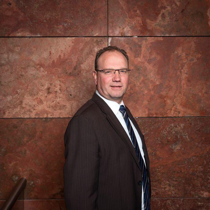 Burgemeester van Apeldoorn Ton Heerts.