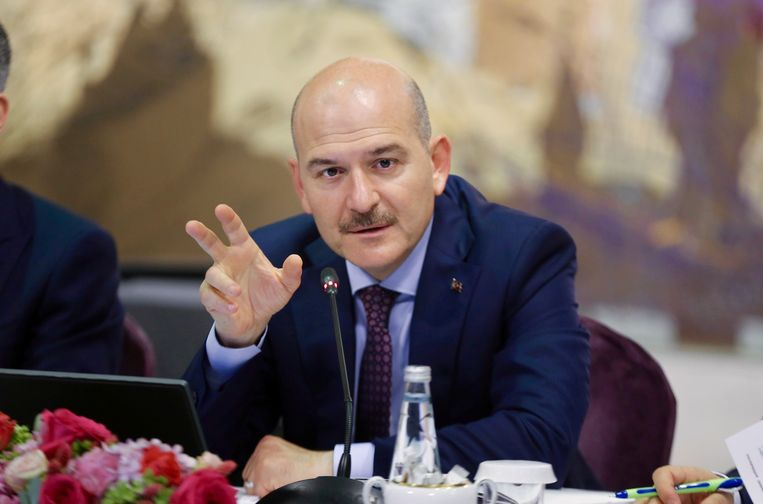 Turks minister van Binnenlandse Zaken Suleyman Soylu.