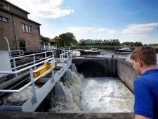 Het Kolffgemaal stuwt rivierwater de Alblasserwaard in