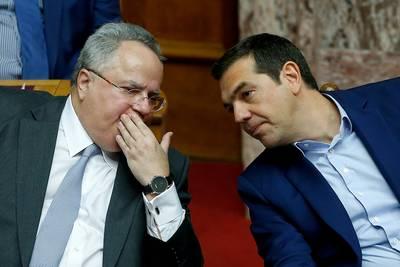 Griekse minister van Buitenlandse Zaken weg na conflict