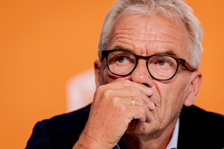 Eric Gudde of KNVB during Presentation Frank de Boer new Holland coach NETHERLANDS ONLY COPYRIGHT SOCCRATES/BSR Beeld BSR Agency