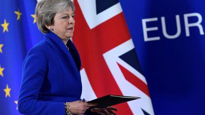 """May: """"Geen nieuw brexit-referendum"""""""