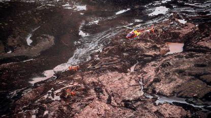 """34 doden en """"300 vermisten"""" bij dambreuk en modderstroom Brazilië: vrees voor honderden doden"""