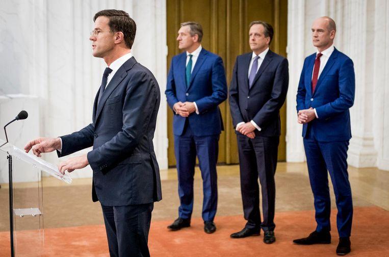 De onderhandelaars zijn eruit Beeld Freek van den Bergh / de Volkskrant