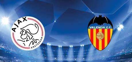 Ajax ontvangt Valencia voor cruciaal duel