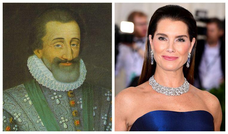 Hendrik IV van Frankrijk en Brooke Shields.