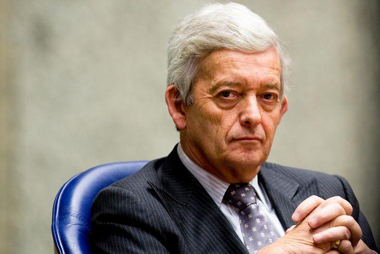 Eimert van Middelkoop als minister van Defensie in 2009. Beeld anp