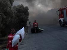 Opnieuw brand in vluchtelingenkamp Moria