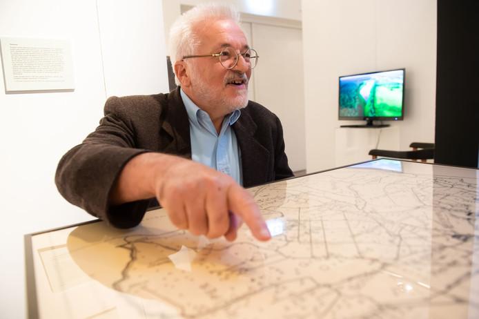 Christ Buiks, auteur van de 'Erfgoedrapporten over de veldnamen in de voormalige gemeente Princenhage'.