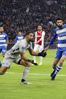 De Graafschap-doelman Etemadi wil 'horrordebuut' tegen Ajax snel vergeten