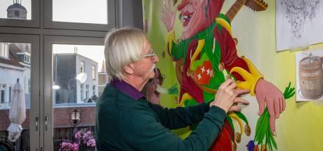 Unieke ode aan Vastenavend is klaar, schilderij van twintig meter
