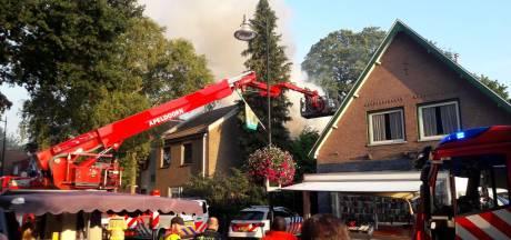 Minimaal twee personen vermist bij grote brand Leger des Heils in Gelderland