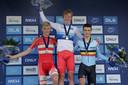 Andreas Leknessund werd in 2017 Europees kampioen tijdrijden bij de junioren.;