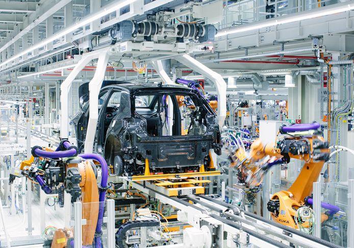 Europa's grootste autofabriek voor elektrische auto's staat in het Duitse Zwickau