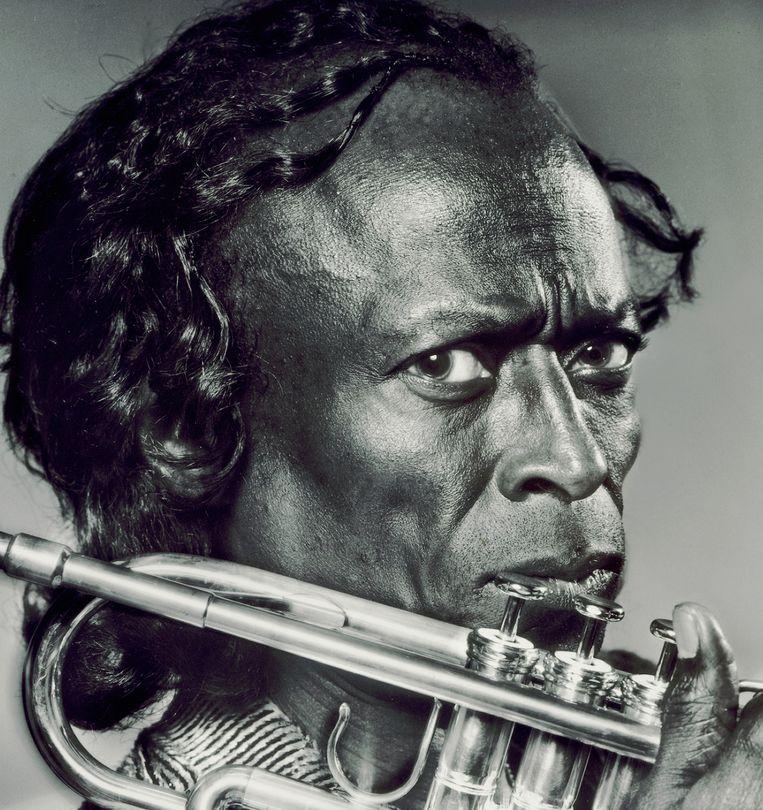 Miles Davis, 1970. Beeld Aaron Rapoport / Getty
