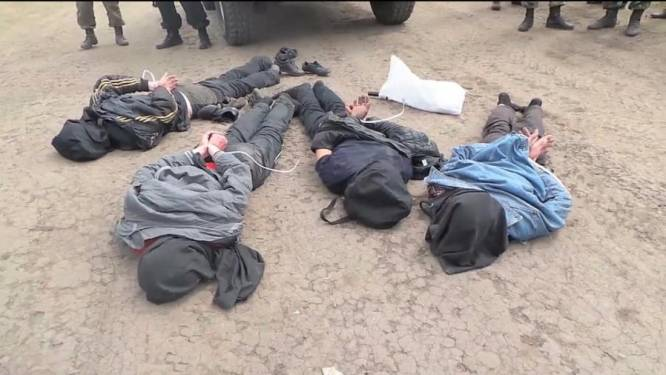 Rusland en Oekräine strijden om Slavjansk