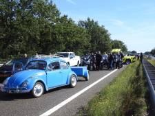 A2 bij Valkenswaard korte tijd afgesloten na ongeluk
