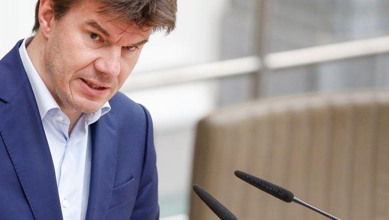 Sven Gatz (Open Vld), Vlaams minister van Cultuur.