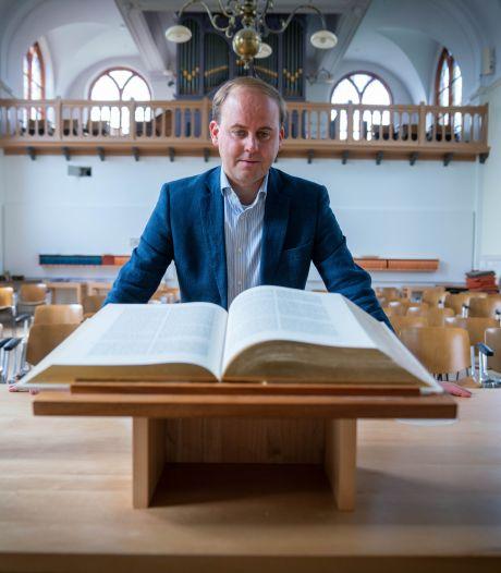 Joost Röselaers predikant in Oosterbeek: 'God heeft slechte pr'